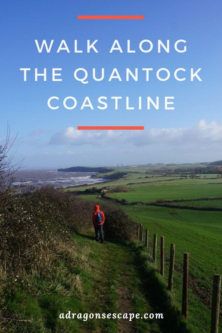 Walk along the Quantock coastline pin