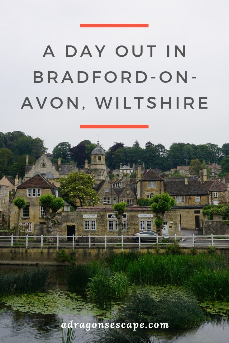 A day out in Bradford-on-Avon, Wiltshire pin