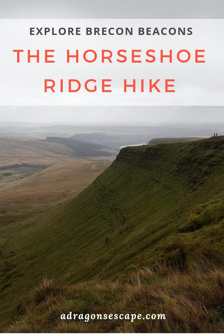 Explore Brecon Beacons - The Horseshoe Ridge hike pin