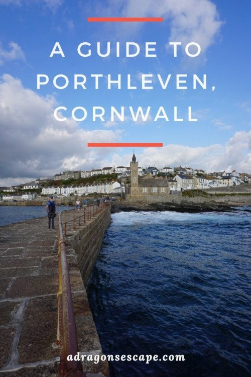 A guide to Porthleven, Cornwall pin