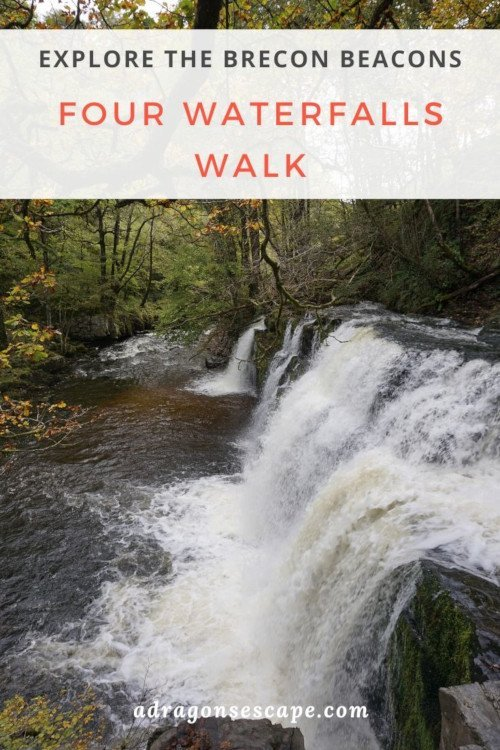 Explore the Brecon Beacons: Four Waterfalls Walk pin