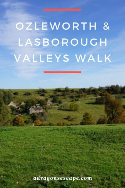 Ozleworth & Lasborough Valleys Walk pin