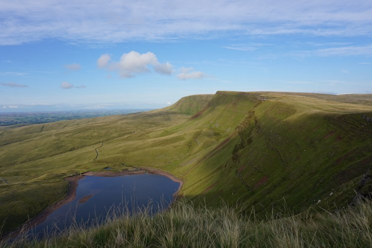 Llyn y Fan Fach lake in the Brecon Beacons
