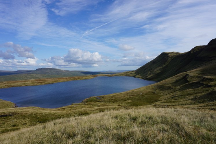 Llyn y Fan Fawr lake in the Brecon Beacons