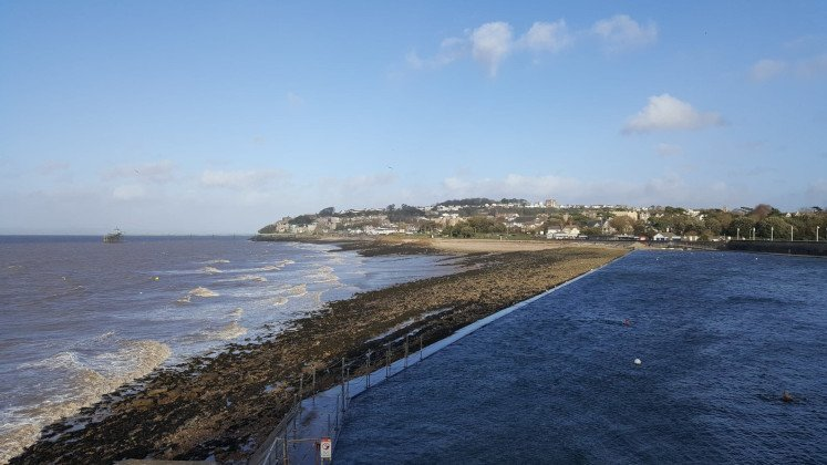 View of Clevedon from Poets Walk